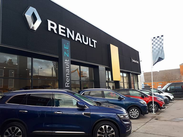 Burton-On-Trent Renault - Renault Dealership in Burton-On-Trent