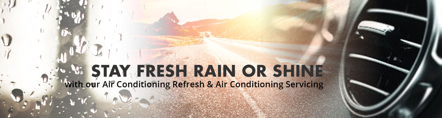 Air con stay fresh rain or shine