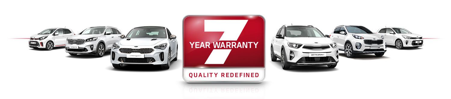 Kia 7 year Warranty banner