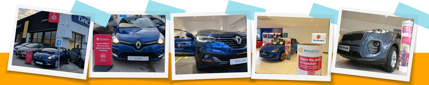 Motability 7 showrooms across the West Midlands