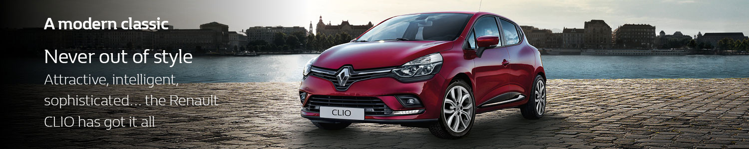 Clio Play banner