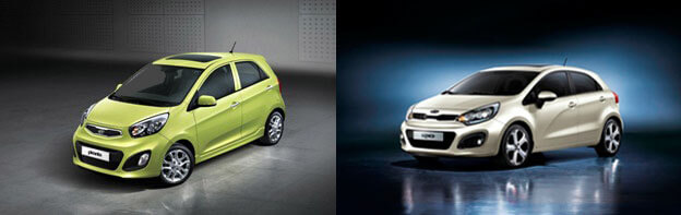 NEW LOOK KIA PICANTO AND RIO ARRIVING SOON!