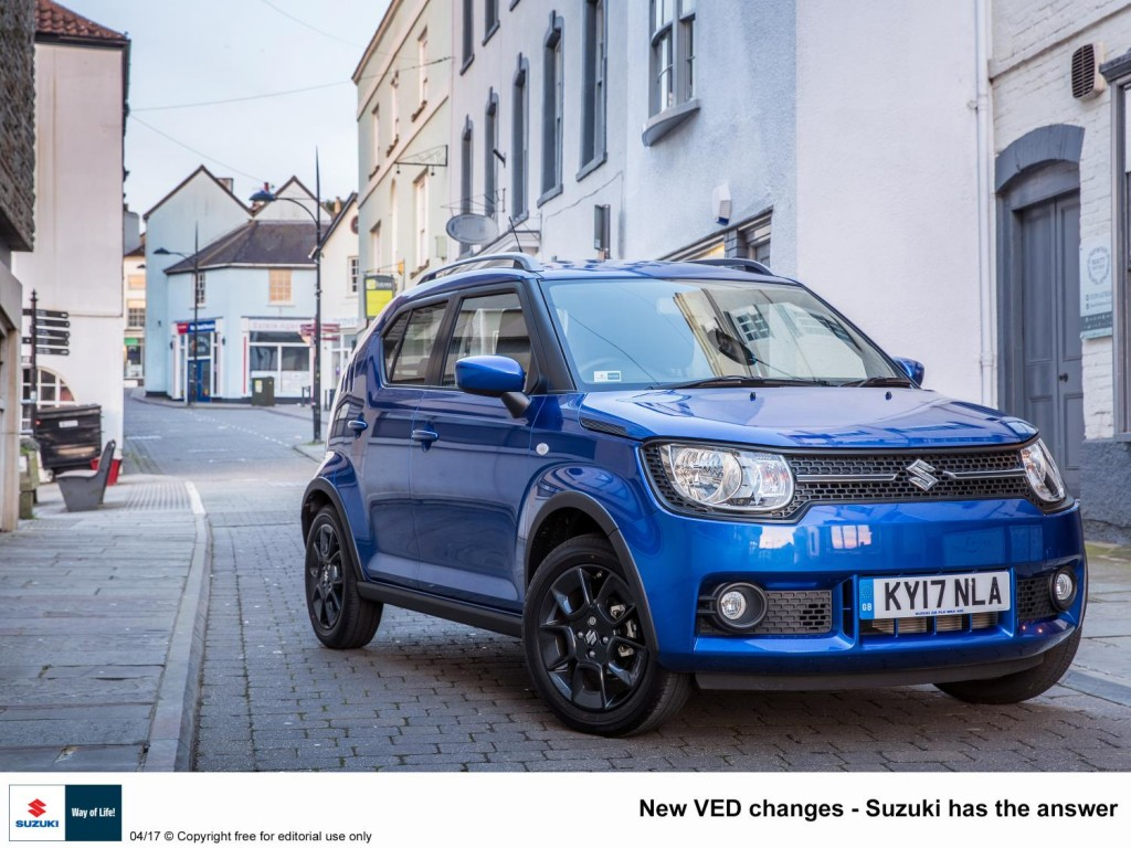 NEW VED CHANGES – SUZUKI HAS THE ANSWER