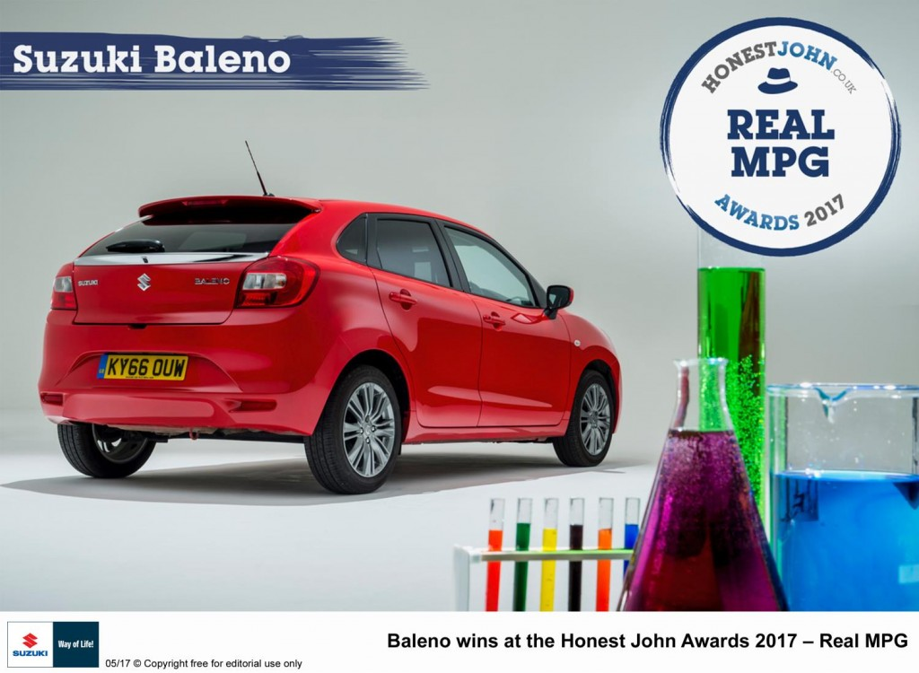 BALENO - GOOD HONEST FUEL CONSUMPTION.