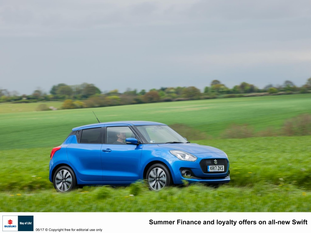 SWIFT NEWS IN BRIEF - SUMMER FINANCE AND LOYALTY OFFERS FOR ALL-NEW SWIFT