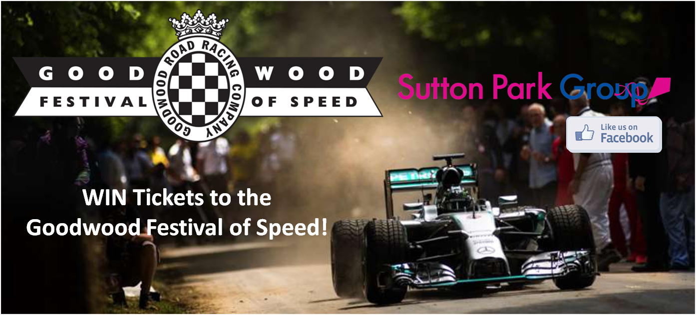 GOODWOOD FESTIVAL OF SPEED 2017 - WIN TICKETS AT SUTTON PARK GROUP