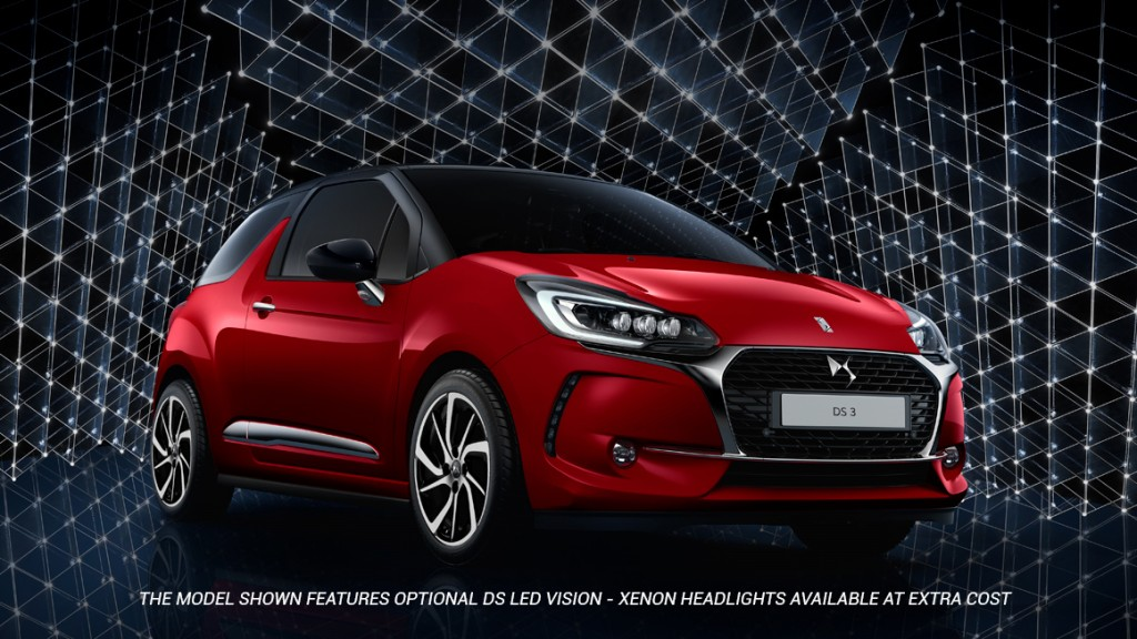 DS Automobiles introduces its latest Limited Edition model; the new DS 3 Inès de la Fressange