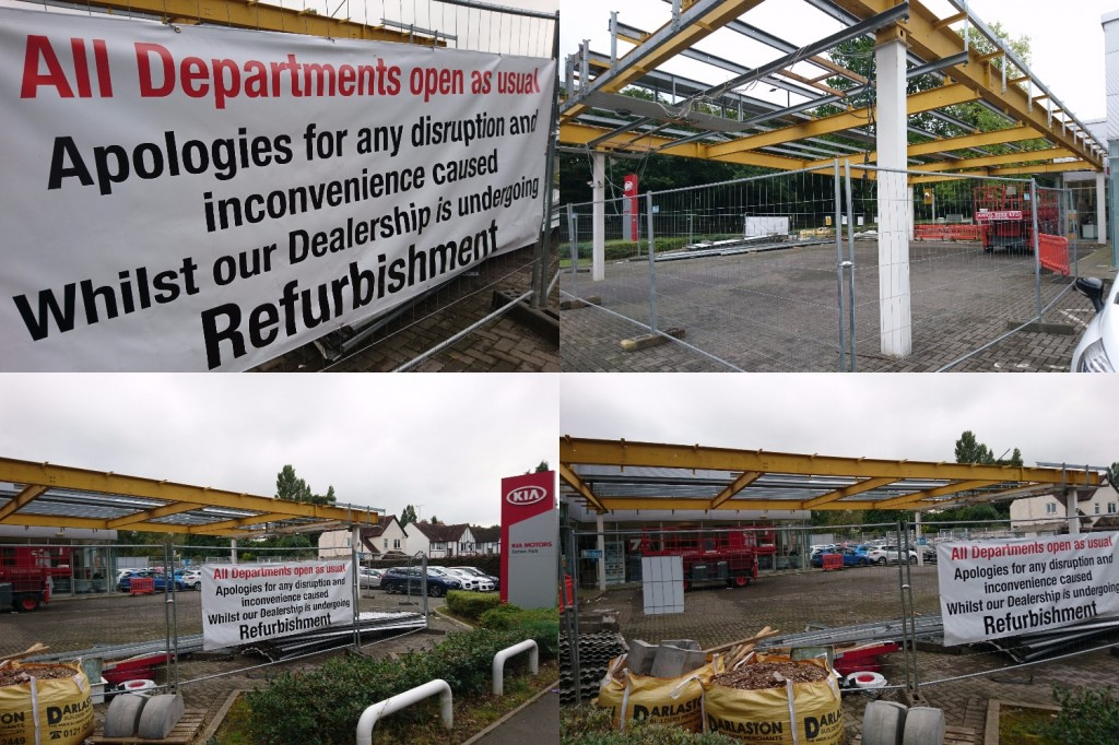 Sutton Coldfield Site Update: Refurbishments