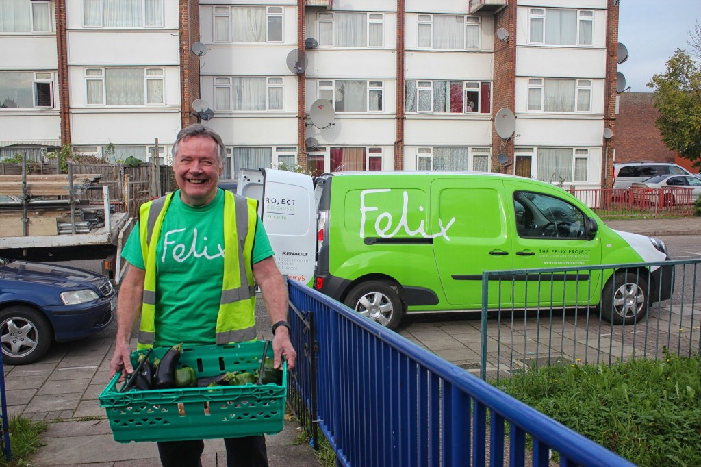 RENAULT AND THE FELIX PROJECT COMBAT FOOD WASTE AND HELP TO DELIVER HOPE TO LONDON'S MOST VULNERABLE