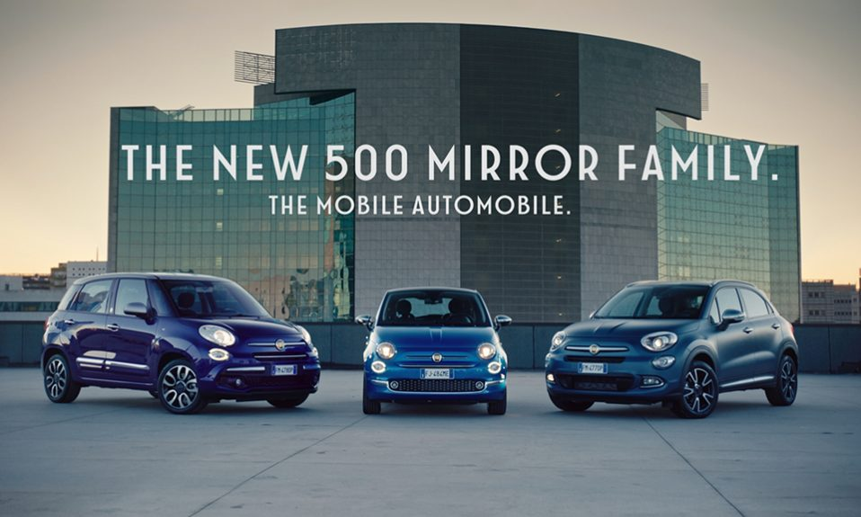 FIAT PARTNERS WITH LONDON FASHION WEEK FESTIVAL TO CELEBRATE THE LAUNCH OF NEW 500 MIRROR FAMILY