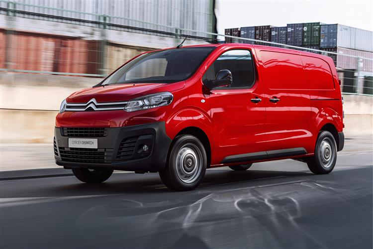 CITROËN DISPATCH NAMED BEST LARGE TRADES VAN IN BUSINESS VAN OF THE YEAR AWARDS 2018