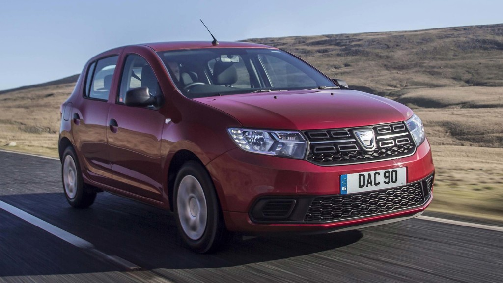 DACIA TOPS LIST OF MOST AFFORDABLE CARS TO RUN IN 2018