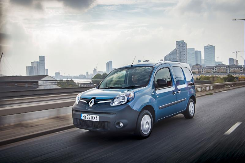 RENAULT KANGOO VAN Z.E.33 WINS 'BEST ELECTRIC VAN' AT THE VANSA2Z AND VAN FLEET WORLD 2018 VAN AWARDS