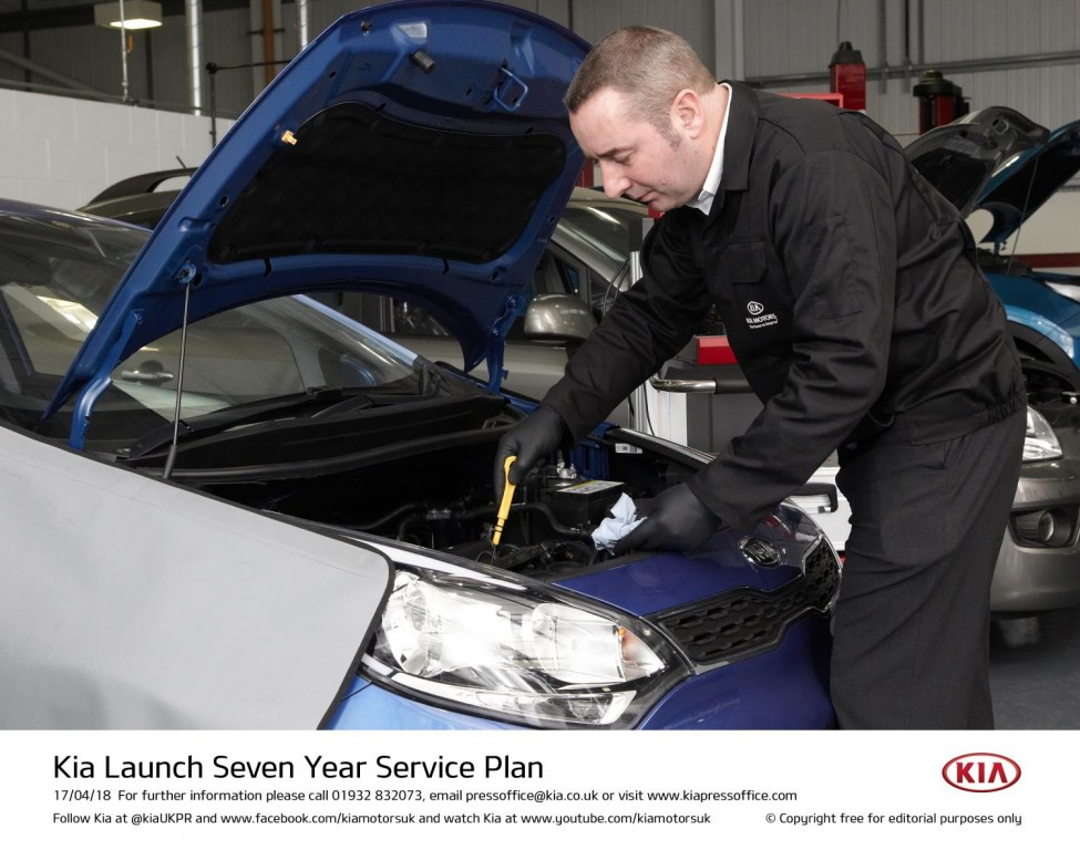 KIA LAUNCH SEVEN YEAR SERVICE PLANS