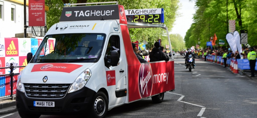 RENAULT OFFICIAL CAR PROVIDER OF THE VIRGIN MONEY LONDON MARATHON FOR 22ND YEAR