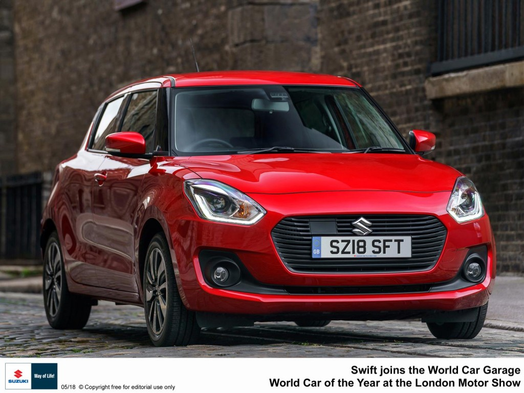 SWIFT JOINS THE WORLD CAR GARAGE