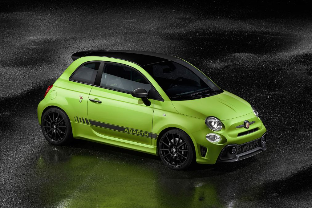 THE NEW ABARTH 595 RANGE – PERFORMANCE AND STYLE