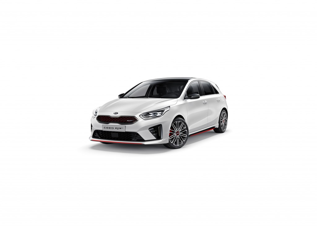 KIA UNVEILS ALL-NEW HIGH-PERFORMANCE CEED GT