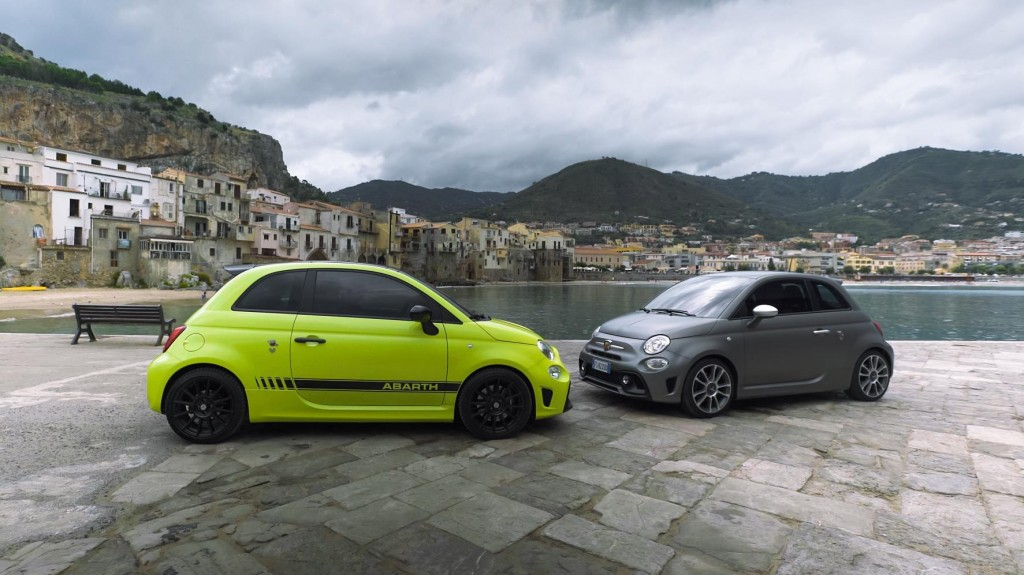 THE NEW ABARTH 595 RANGE MAKES ITS DEBUT AT THE TARGA FLORIO