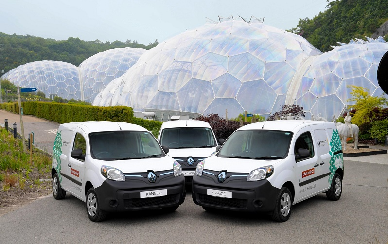 RENAULT EVS DRIVE FORWARD THE EDEN PROJECT'S COMMITMENT TO REDUCING CARBON EMISSIONS
