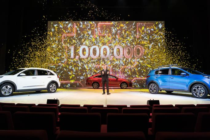KIA DELIVERS ITS 1 MILLIONTH CAR IN THE UK