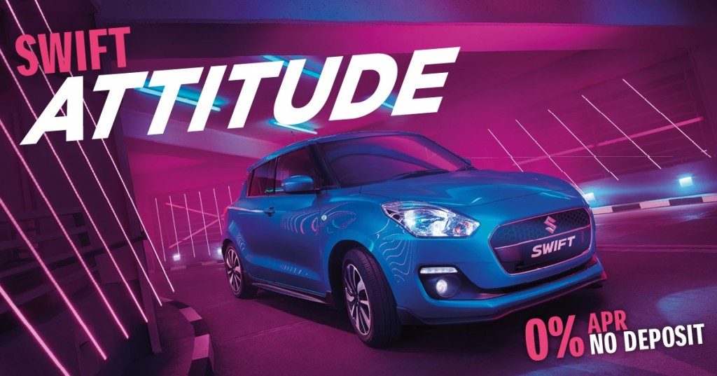 Suzuki Release Swift Attitude on 0% APR