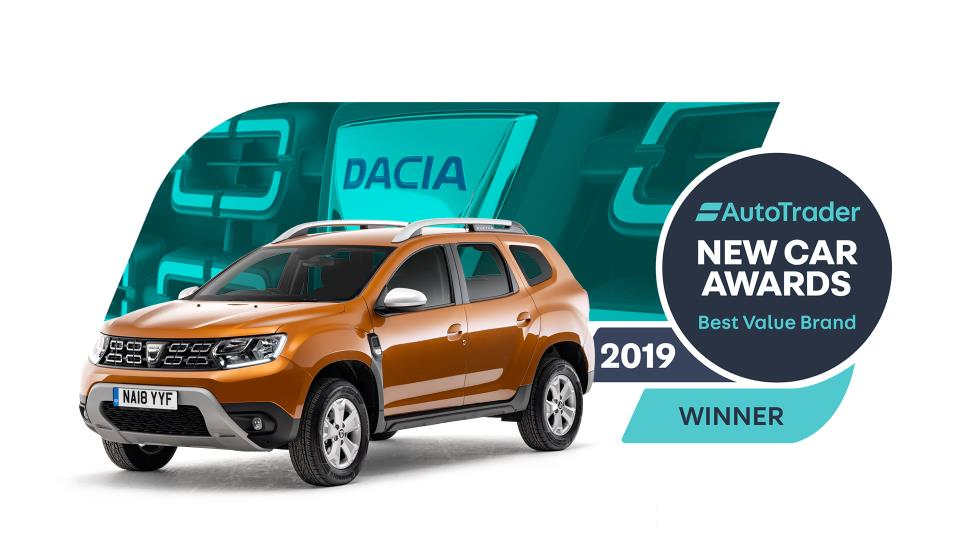 DOUBLE WIN FOR DACIA AT AUTO TRADER NEW CAR AWARDS 2019