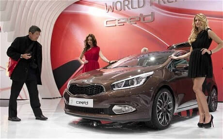 Kia Reveals New Cee'd at the Geneva Motor Show 2012