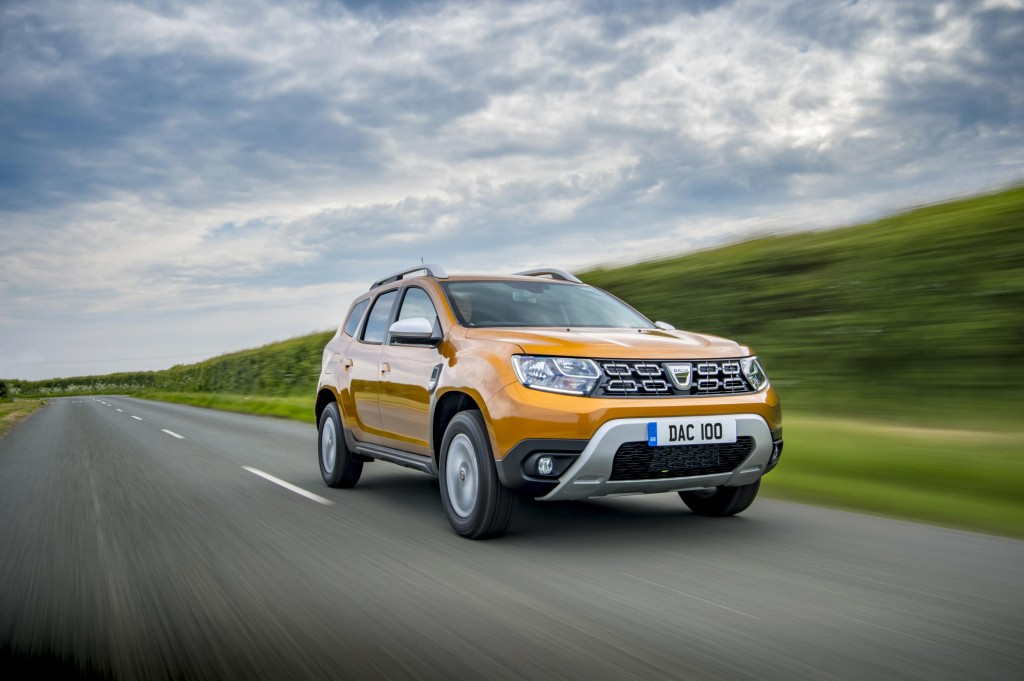 DACIA ADDS NEW ENTRY LEVEL TCE 100 ENGINE TO DUSTER LINEUP