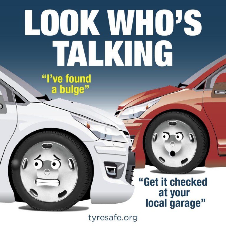 LOOK WHO'S TALKING - DON'T IGNORE YOUR TYRES, SAYS TYRESAFE