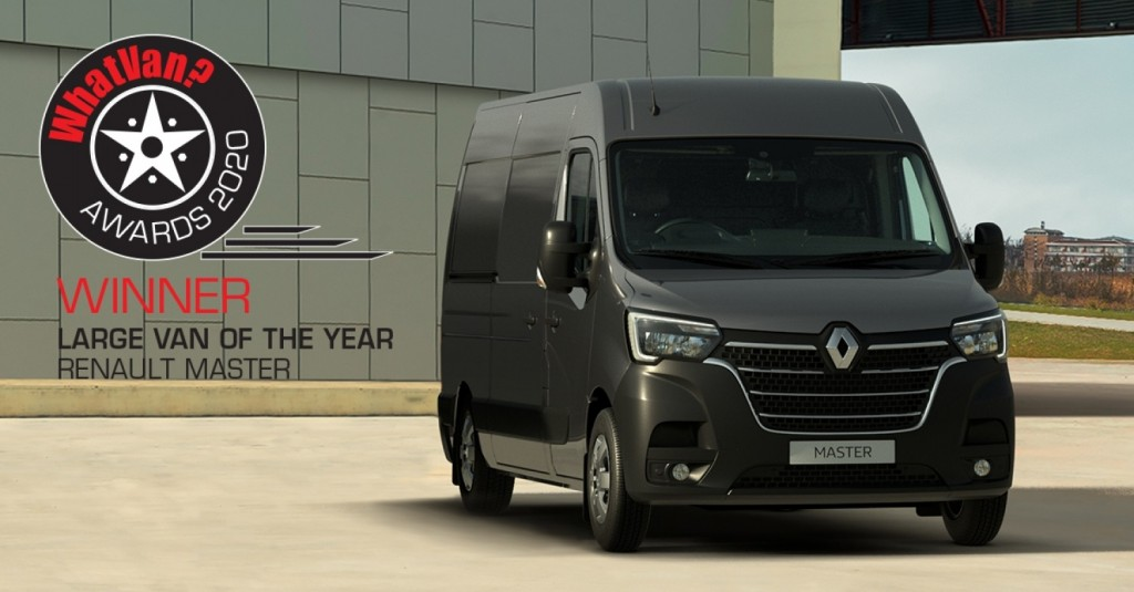 SUCCESS FOR NEW RENAULT MASTER AT WHAT VAN? AWARDS