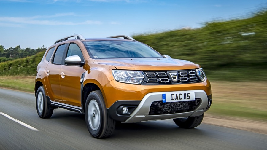 DACIA DUSTER NAMED BEST VALUE NEW CAR IN AUTO TRADER NEW CAR AWARDS