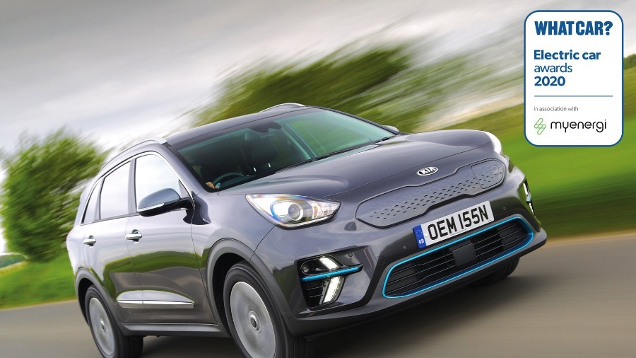 DOUBLE WIN FOR KIA AT WHAT CAR? ELECTRIC CAR AWARDS