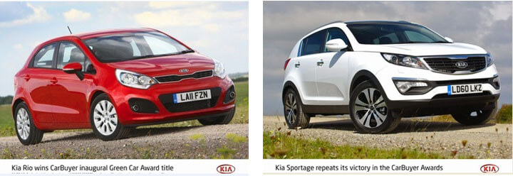 KIA SPORTAGE REPEATS ITS CARBUYER AWARDS SUCCESS