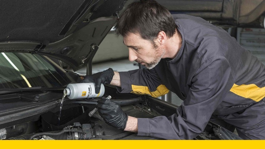 Renault Brake Fluid Change from £62.99