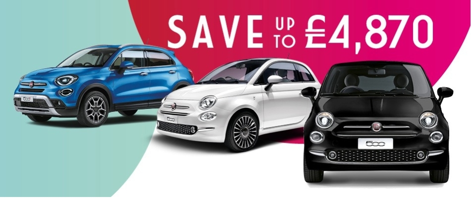 Fiat 500X Business Offers