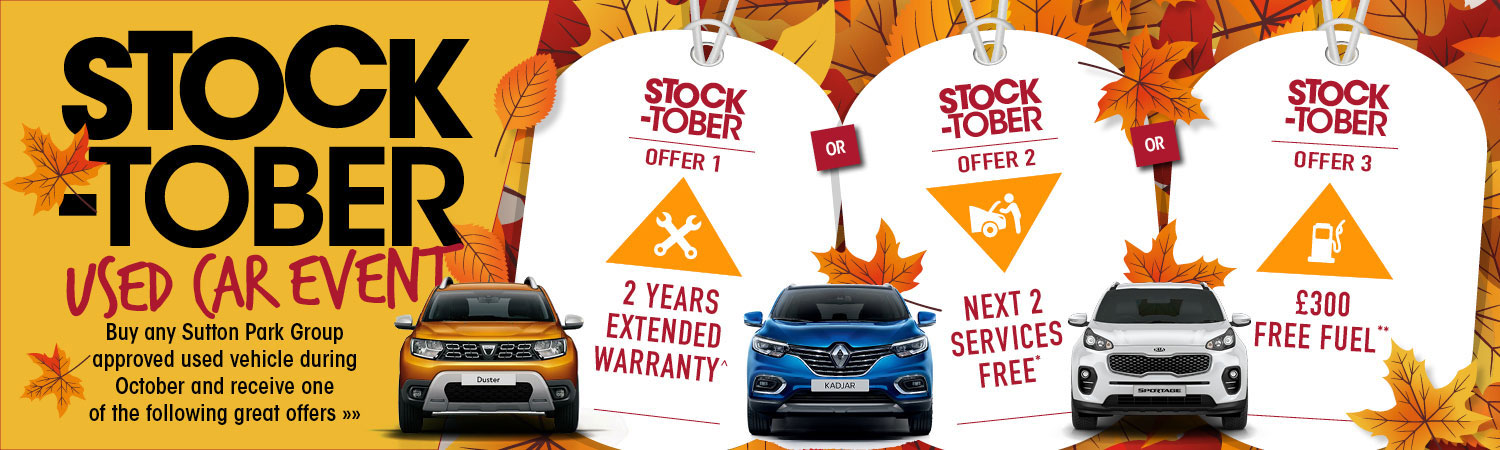 Stock-Tober - Used Car Event!